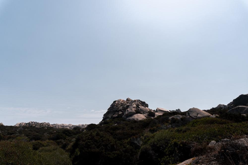Hügelland Sardinien