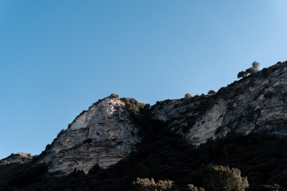 Roadtrip durch Sardinien Berge