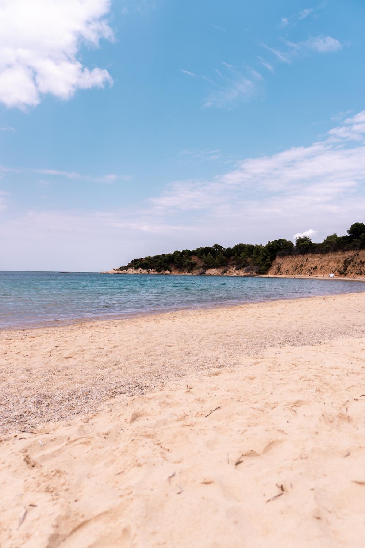 Sandstrände Skiathos Griechenland - Reise nach Skiathos