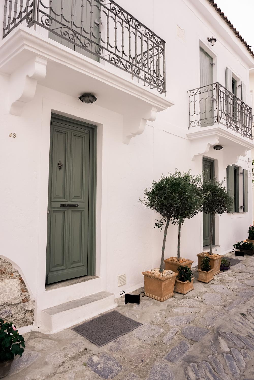 Skiathos Häuser